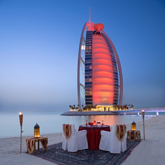 Burj Al Arab Dinner