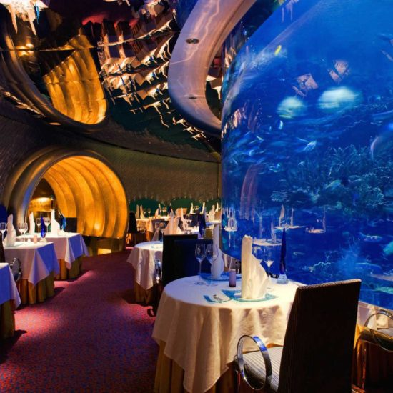 Burj Al Arab Lunch