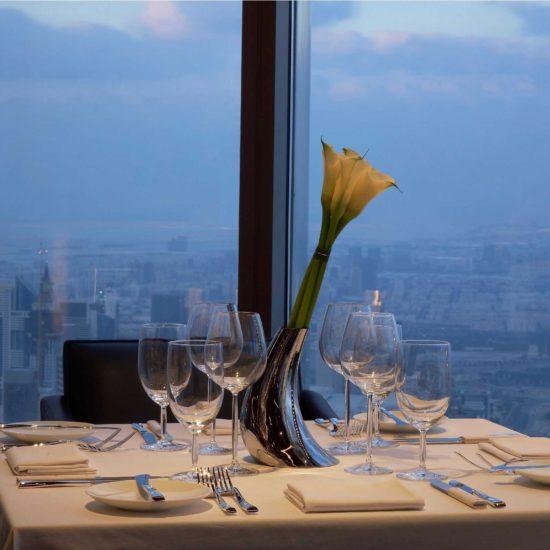 Burj Khalifa Dinner