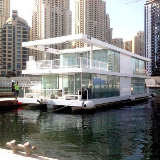 Marina Glasshouse Boat