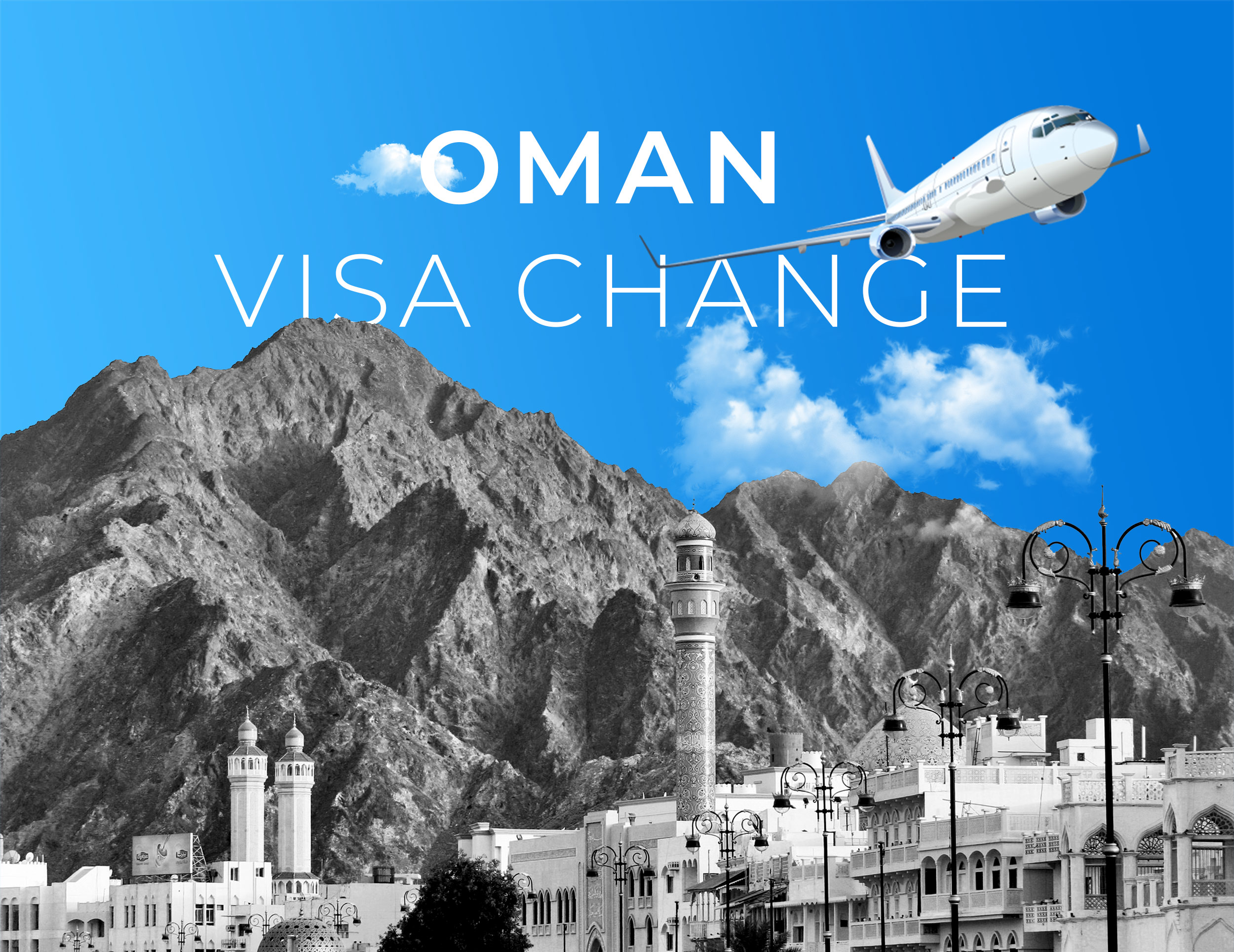 Oman Visa Change Feature image