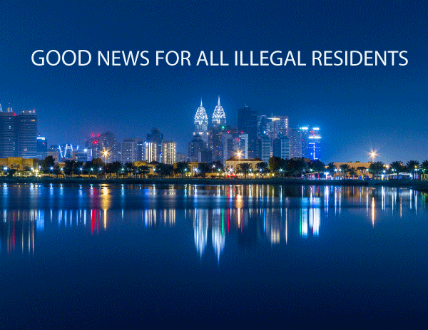 Good news for Illegal Residents